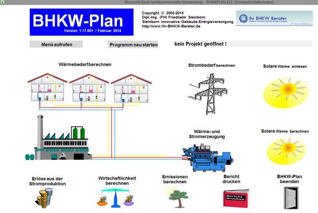 Bild Programm BHKW-Plan