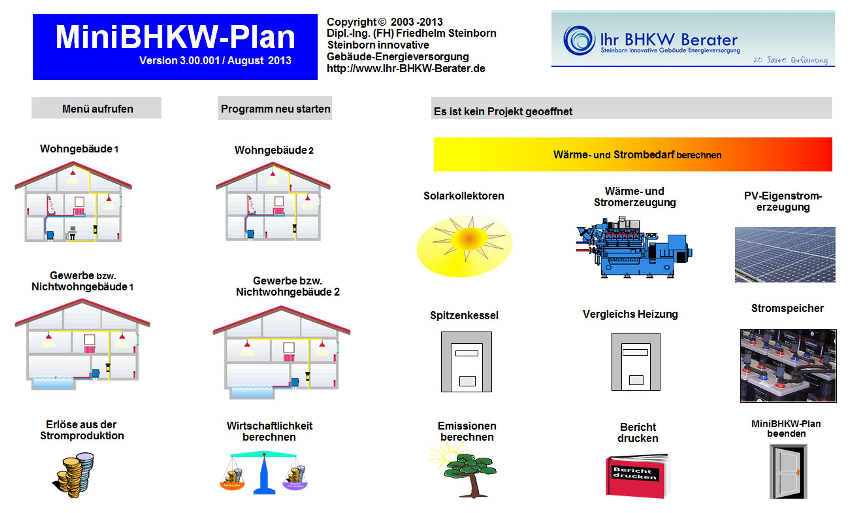 MiniBHKW-Plan Weiterbildung