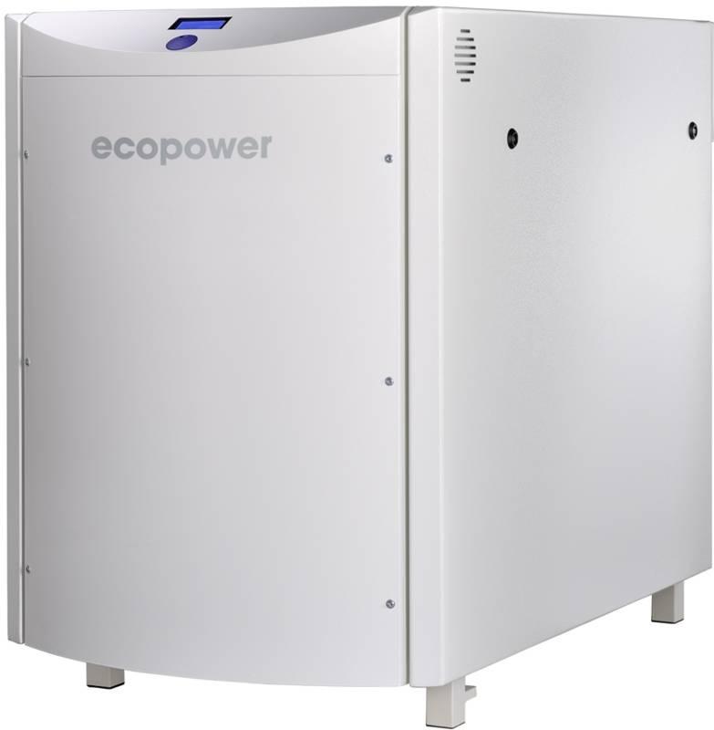 ecopower Mini-BHKW blockheizkraftwerk Mehrfamilienhaus