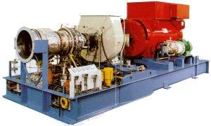 Gasturbinen BHKW Blockheizkraftwerk