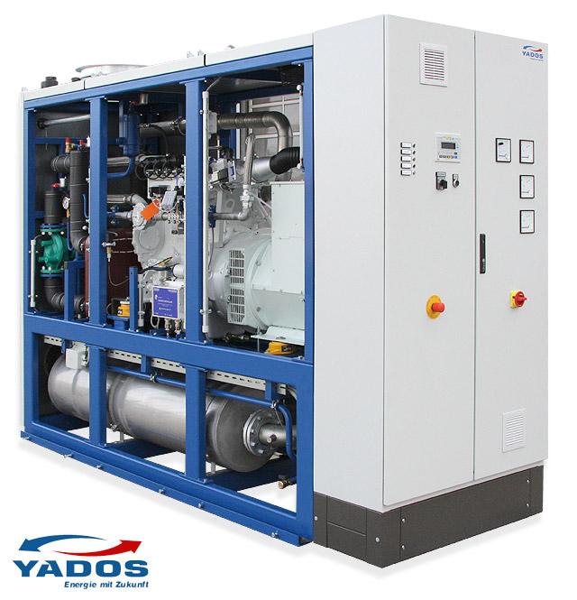 Yados BHKW 43 und 50 kW