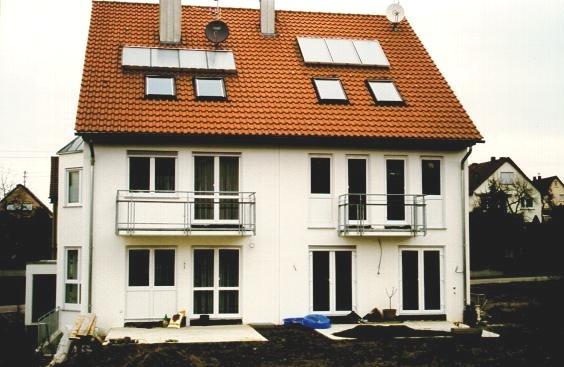 BHKW Blockheizkraftwerk für ein Mehrfamilienhaus
